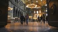 HD: Hagia Sophia, Istanbul, Turkey video