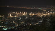 Haifa pan night video
