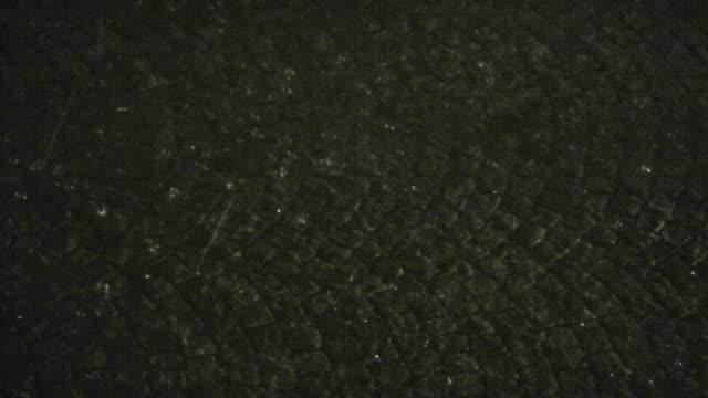 Hail at night video