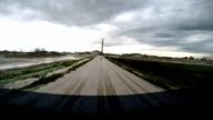 Hailstone at Driving video