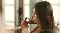 Hair beauty video