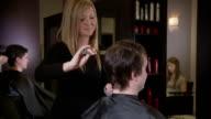 Hair salon video