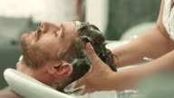 Hair washed video