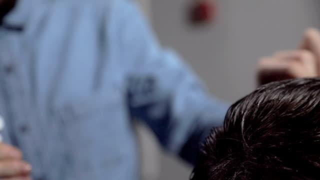 Haircut video