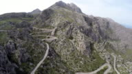 Hairpin turns to Sa Calobra - Serra de Tramuntana video
