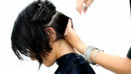 Hairstyle: Hair cutting video