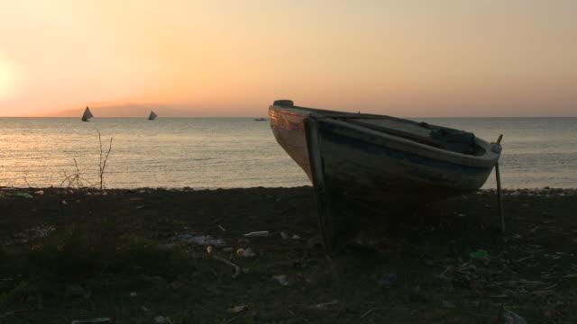 Haiti Beach Boat video