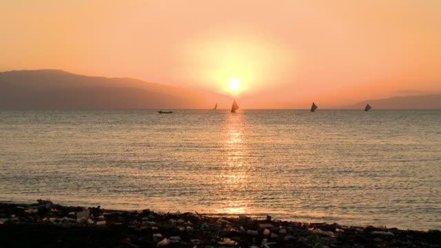 Haiti Sunset Beach video