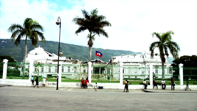 Haiti's Presidential Palace After the Earquake video