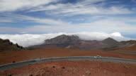 Haleakala Crater Road, Maui, Hawaii (pan) video