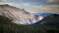 Half Dome from Tioga Road, Yosemite National Park - Time Lapse video