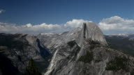 Half Dome in Yosemite National Park, California video
