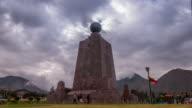 half of the world in quito ecuador timelapse video
