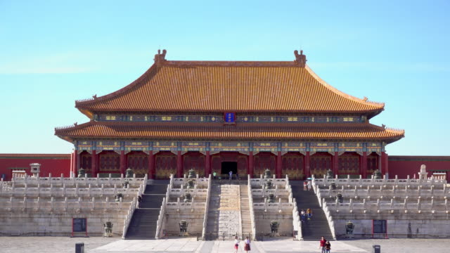 Hall of Supreme Harmony in Forbidden City . video