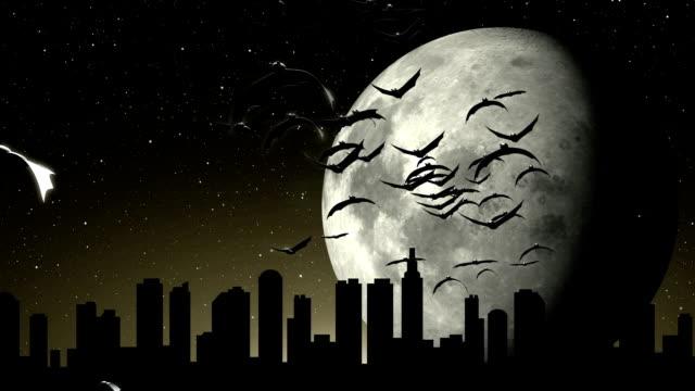 Halloween and bats video