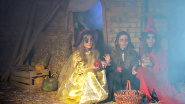 Halloween Ghost Scares Witches video