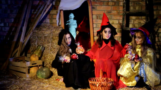Halloween: Ghost Scaring Witches video