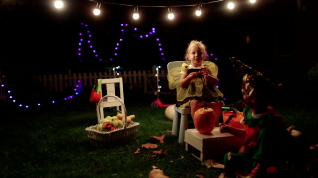 Halloween in our backyard video