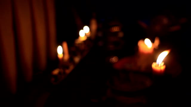 Halloween : Misty's bokeh candle 2 video