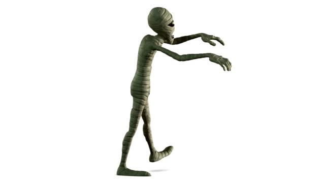 halloween mummy video