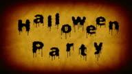 Halloween party video