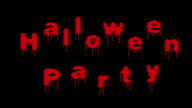 Halloween party video
