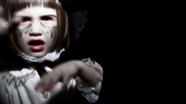 Halloween Vampire Little Girl - HD video