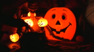 Halloween. Very scary. Horror decorations. video
