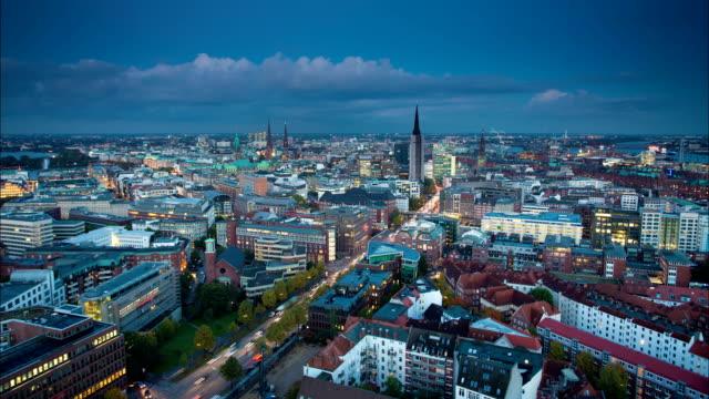 TIME LAPSE: Hamburg City Germany video