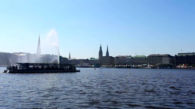 Hamburg - Germany / Binnenalster video