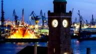 Hamburg harbour video