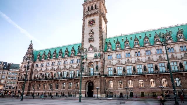 Hamburg Townhall Hyperlapse video