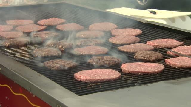 Hamburger Grill video