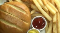Hamburgers, French Fries, Fast Food video