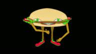 Hamburger-Transparent/Alpha video