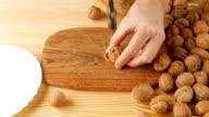 Hammer to break nuts. video