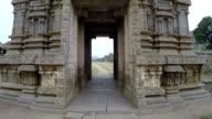 Hampi. Temple. video