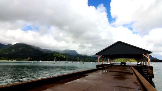 Hanalei Bay Pier - Kauai, Hawaii video