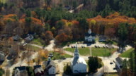 Hancock  - Aerial View - New Hampshire,  Hillsborough County,  United States video