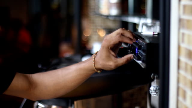 Hand adjusting volume control video
