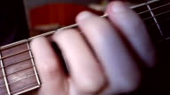 Hand clamped chords on the fingerboard video