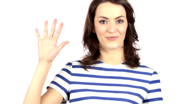 Hand counting down video
