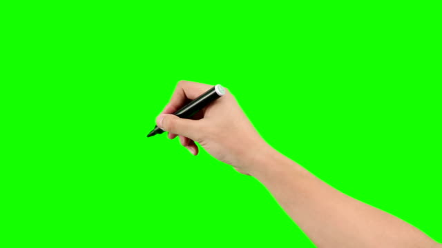 hand drawing on a writing board video