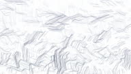 Hand drawn gray camouflage background video