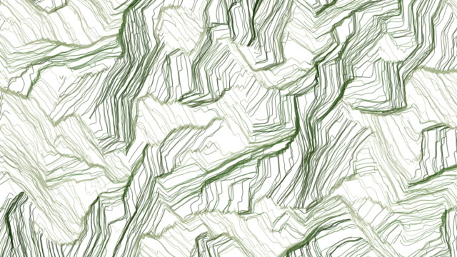 Hand drawn green camouflage background video