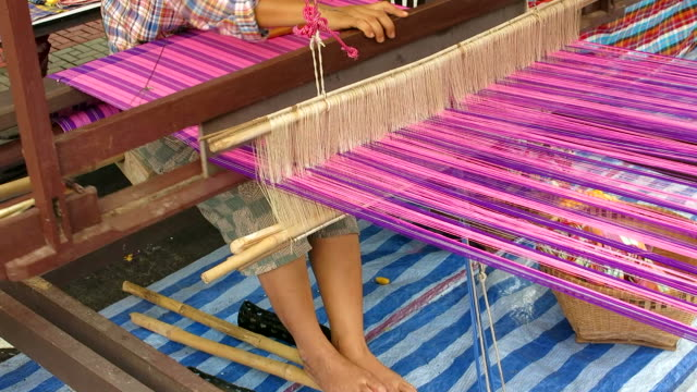 Hand loom manufacture video