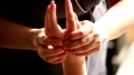 Hand Massage Close Up video