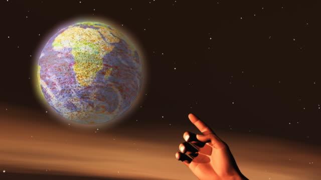 Hand of God - Creation video