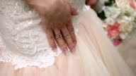 Hand of the bride video