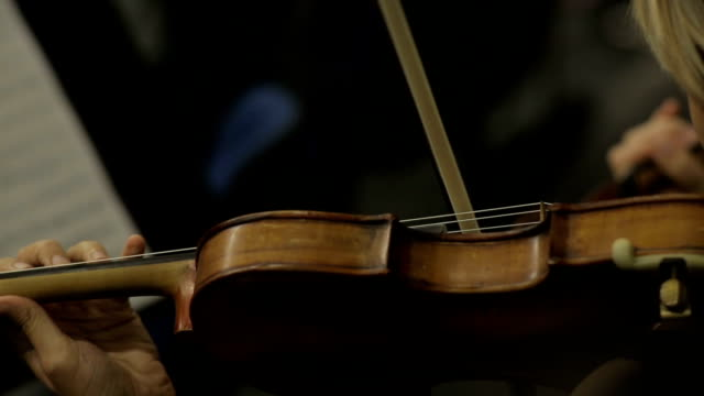 Hand On The Strings Of A Violin video